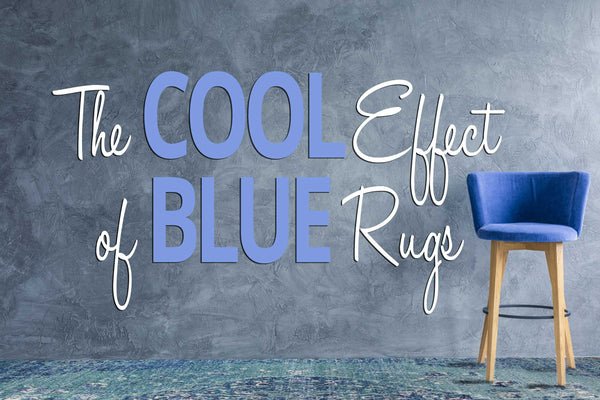 The Cool Effect of Blue Rugs Blog Image