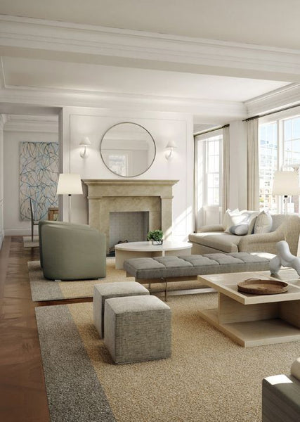 Bench Connects Two Seating Spaces And Leave The Room Visually Open. Perfect  For Entertaining Spaces Part 76
