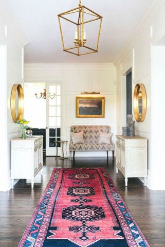 trend we love: pink kilim rugs (forever!) | domino.com: