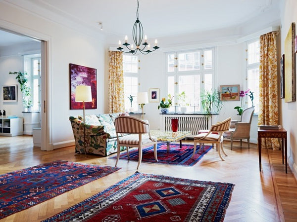 eclectic-themed rooms