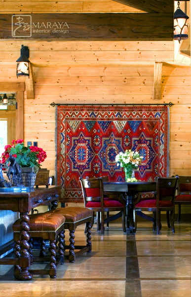 how to hang an oriental rug From the Desk at RugKnots
