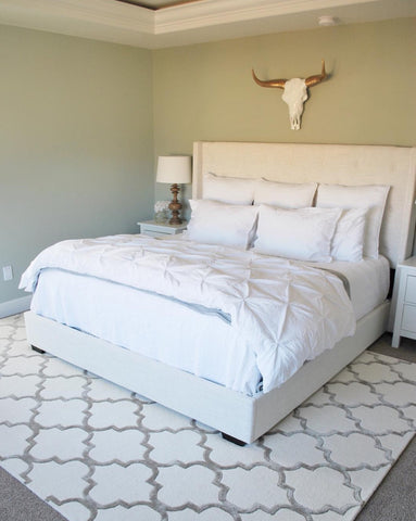 How To Choose An Area Rug For Your Bedroom Rugknots Rugknots