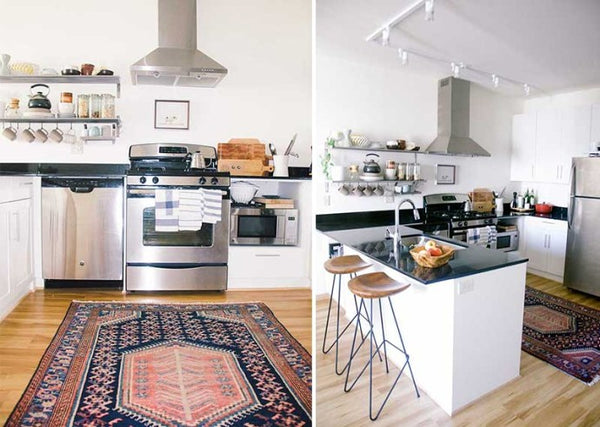 Kitchen With Oriental Rugs