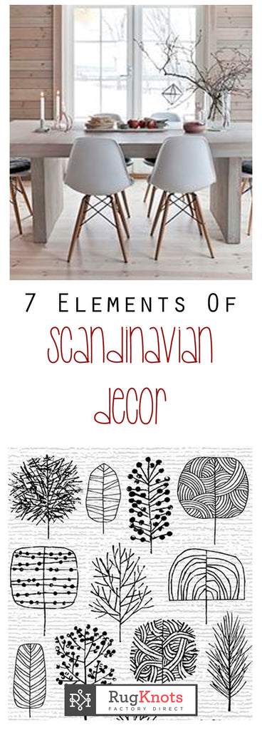 Contact rugknots 7 elements of scandinavian decor