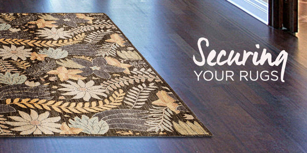 How To Secure Your Oriental Rug From RugKnots.com On Hardwood Floors