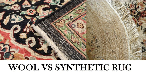 wool vs synthetic rug: what is the best carpet type
