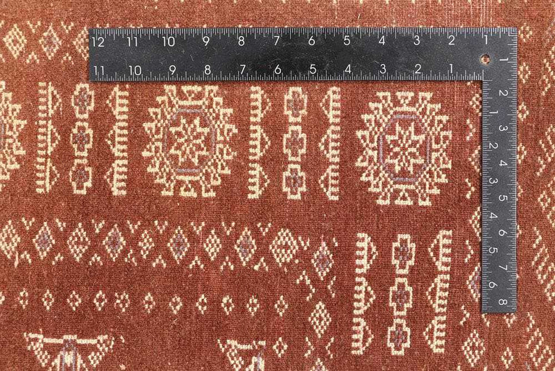 Brown Bokhara Area Rug
