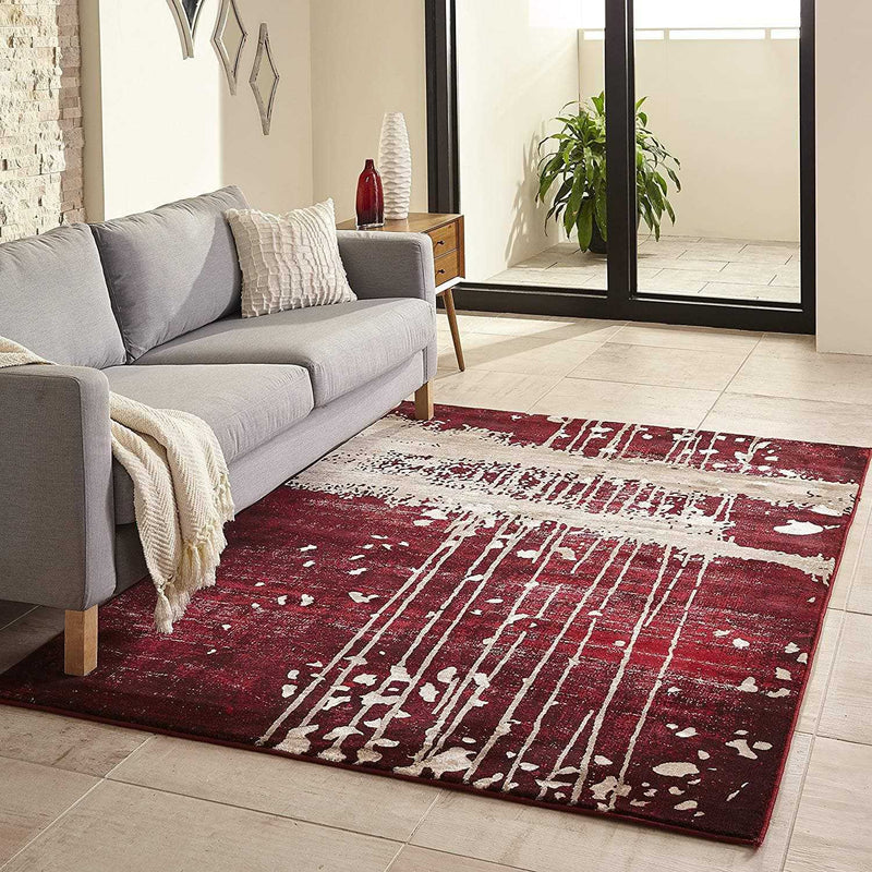 Grey Boho Chic Area Rug