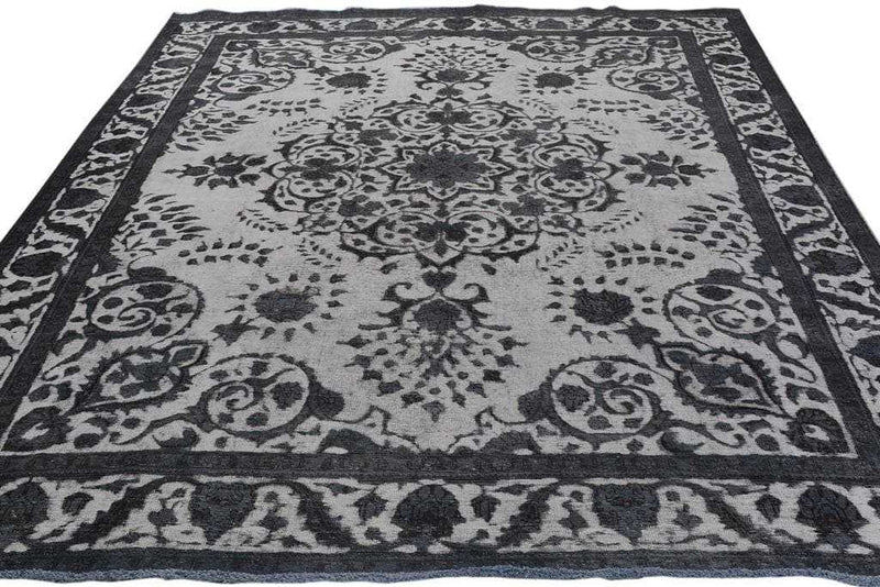 Grey Persian Area Rug