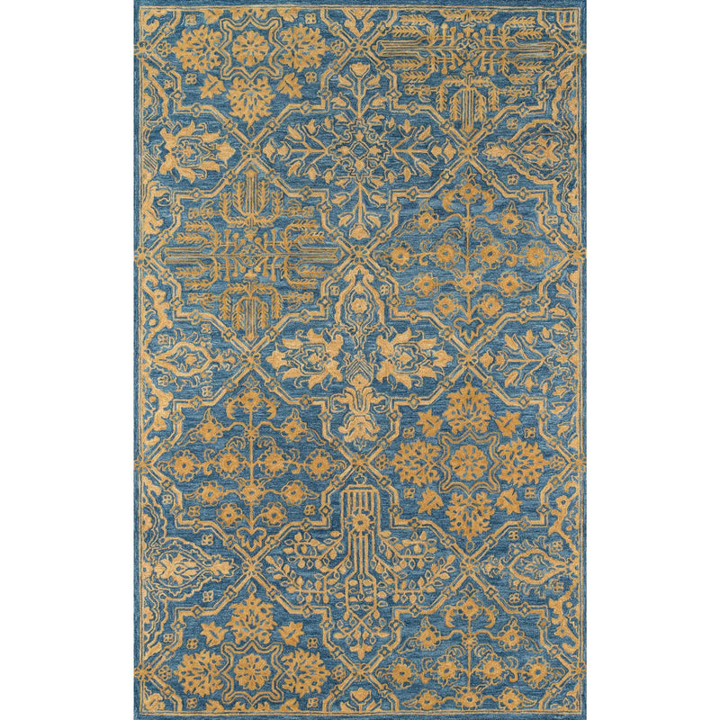 Multi-Color Boho Chic Area Rug
