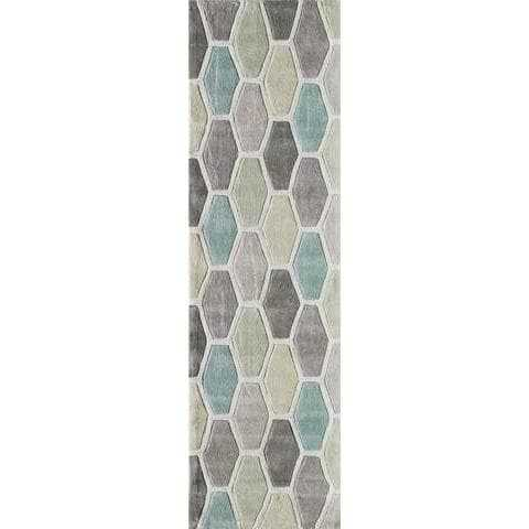 Multi-Color Geometric Area Rug