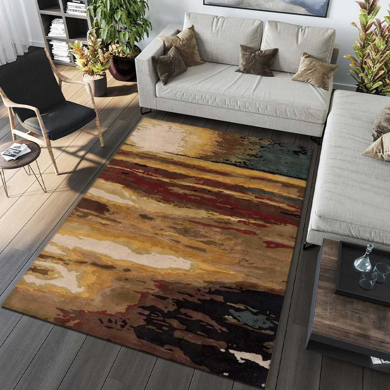Multi-Color Southwestern Area Rug