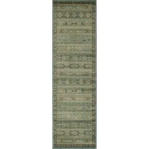 Multi-Color Tribal Area Rug
