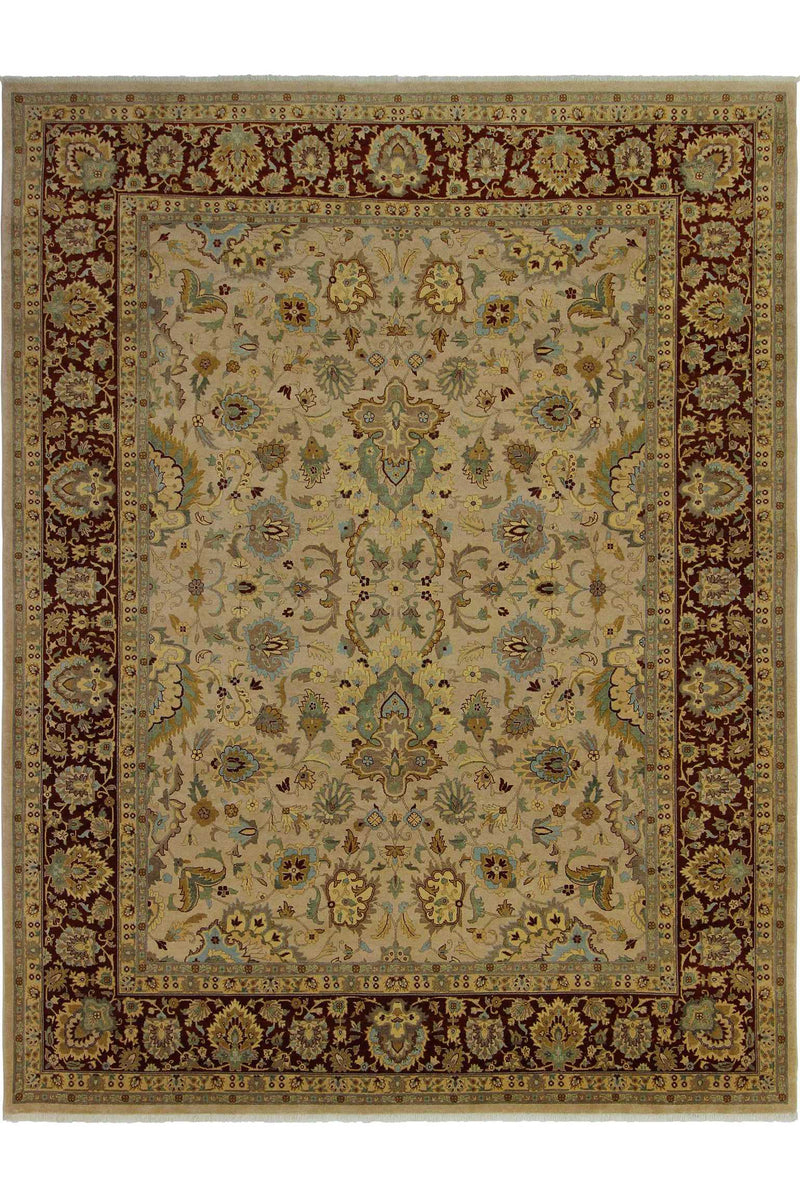 Tan Ziegler Area Rug