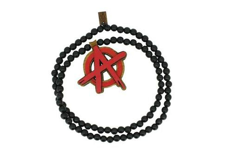 Bijoux homme, Collier rebel symbole Anarchy