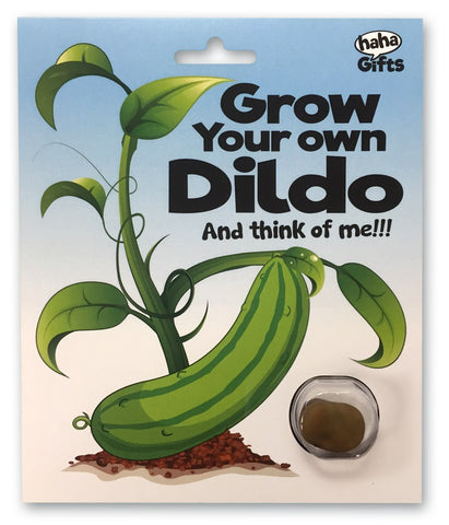 $10 Gifts - Grow Your Own Dildo