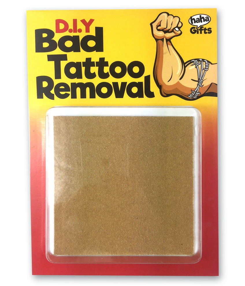 D I Y Bad Tattoo Removal