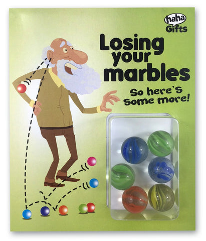 $15 Gifts - Losing Your Marbles – Man