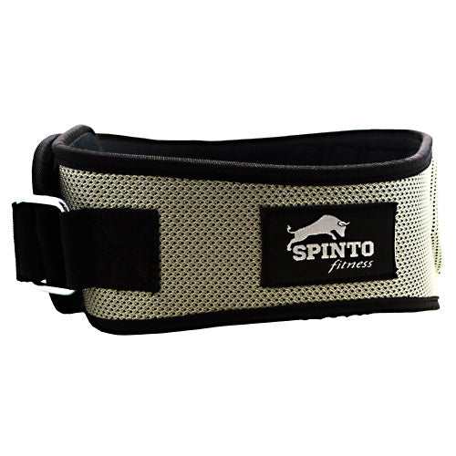 Spinto USA, LLC Foam Core Lifting Belt - Silver - 1 ea - 636655966363