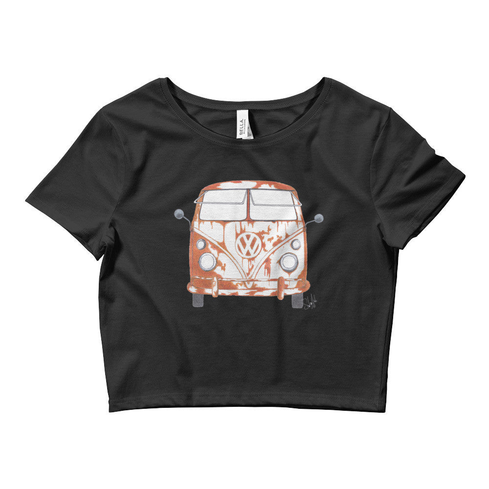 """Rusty"" - Women's Crop Top"