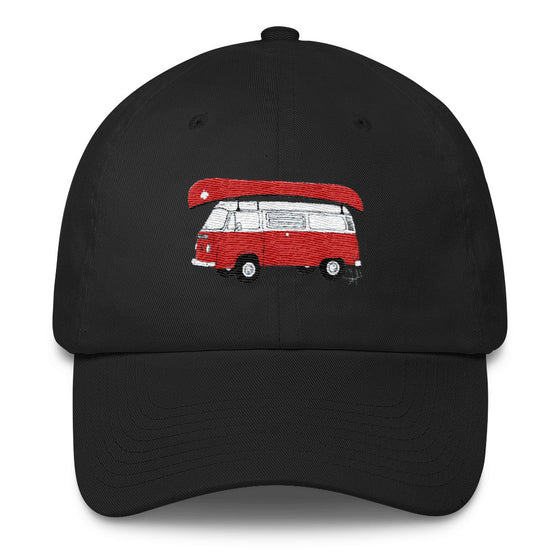 """Canadian Camping"" - Cotton Cap"