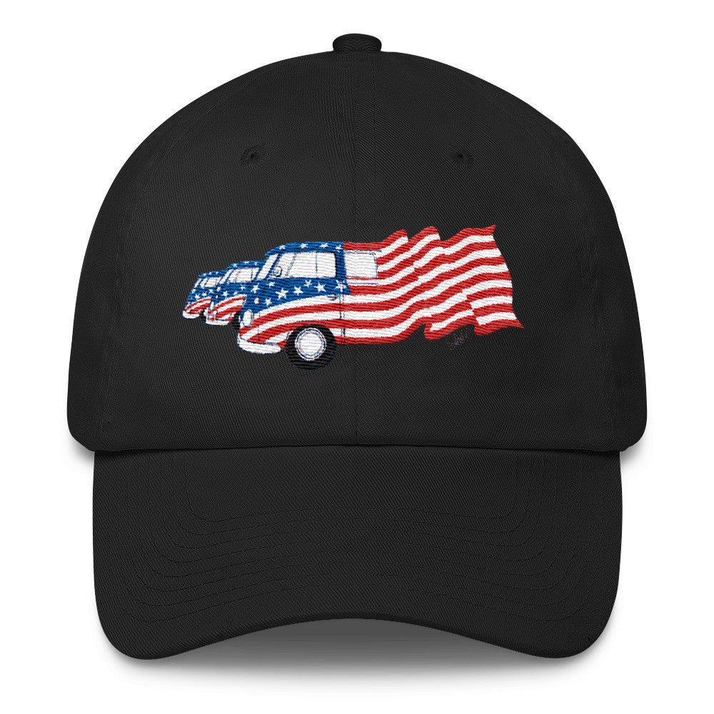 """Ole Glory - Red, White & Blue"" - Cotton Cap"