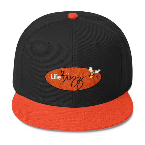 """Life is a Buzz"" - Wool Blend Snapback"