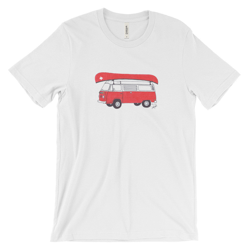 """Commemorative Canadian National Parks Tee"" - Unisex Short Sleeve Tee"