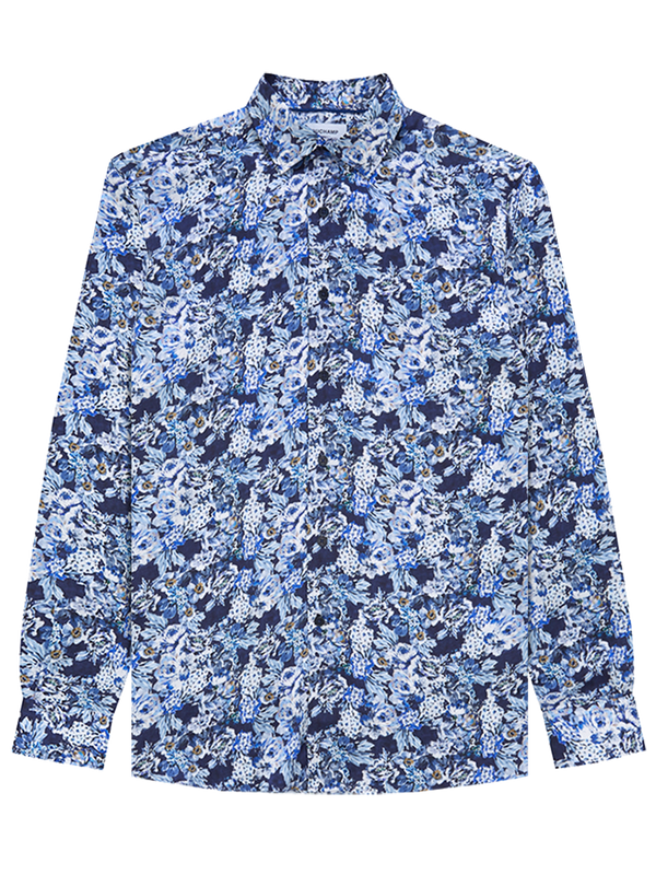 Deco-Floral-Silk-Print-Shirt-Navy