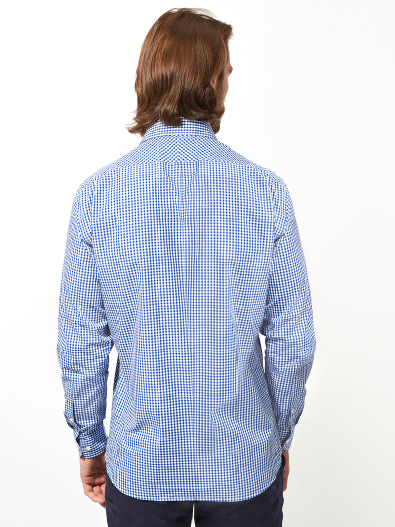 Gingham Shirt Navy