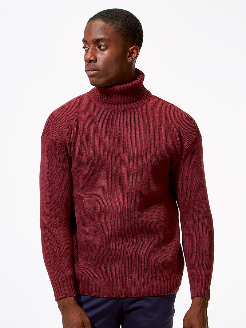 duchamp red luxury british knitwear