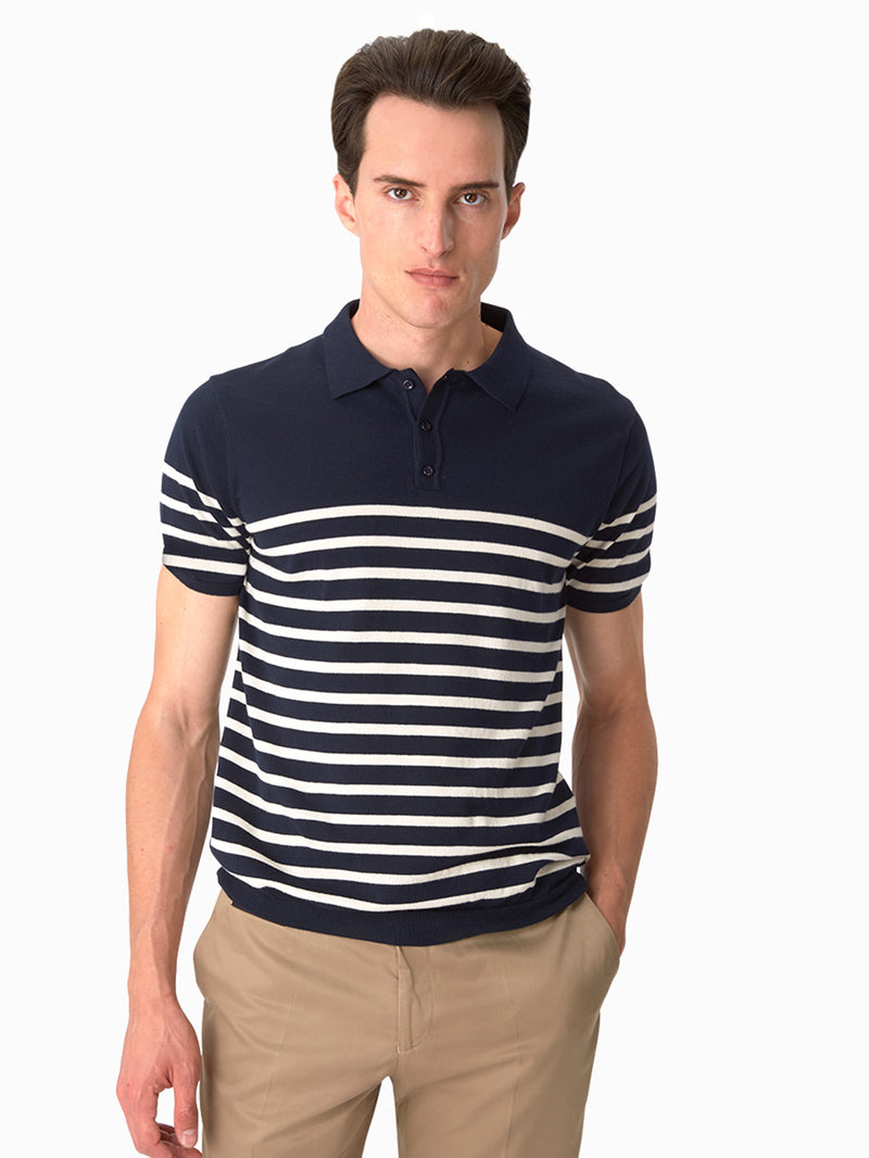 Mens-Poloshirt-Navy