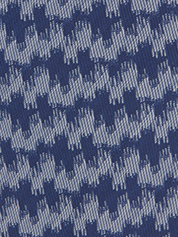 Wave Stripe Tie Navy