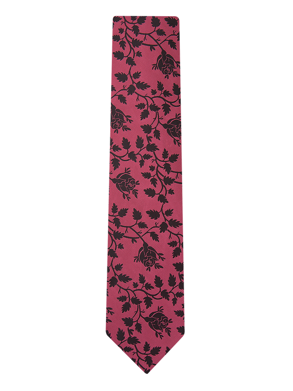 Balloon Floral Tie Pink