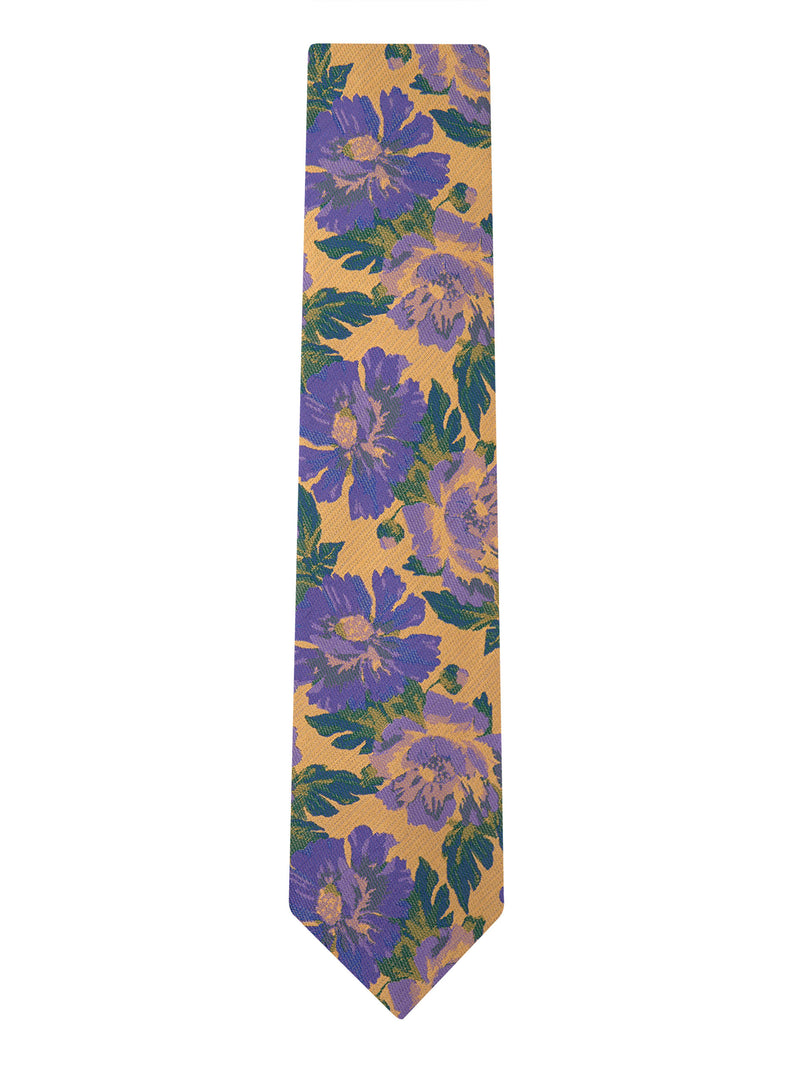 Calendula Floral Tie Yellow