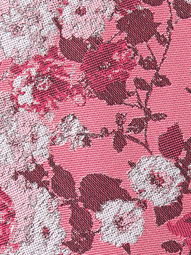 California Bouquet Tie Pink