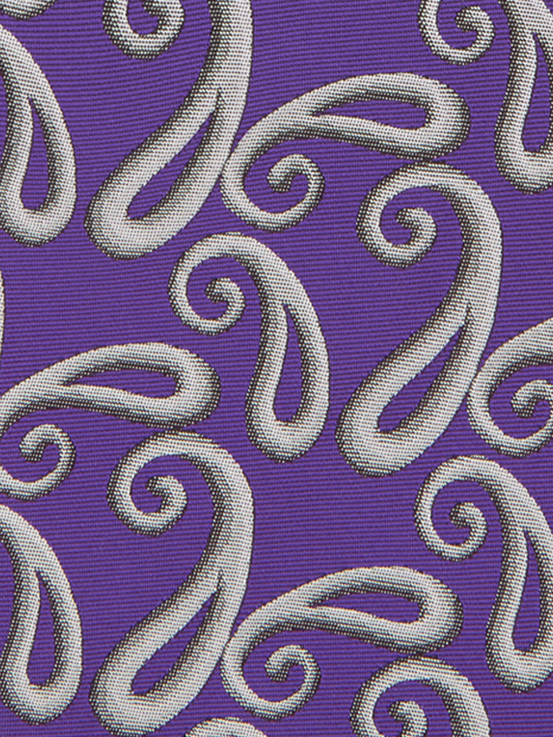 Shaded Paisley Tie Purple