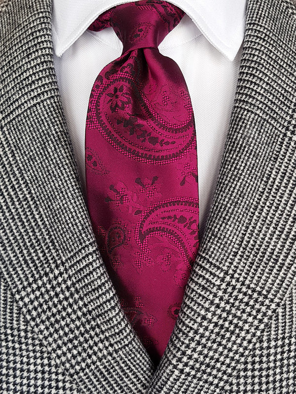 Colourful Paisley Tie Pink