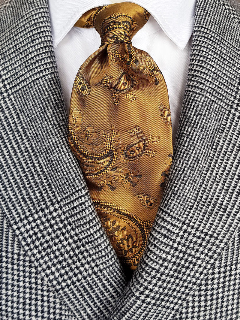 Colourful Paisley Tie Yellow