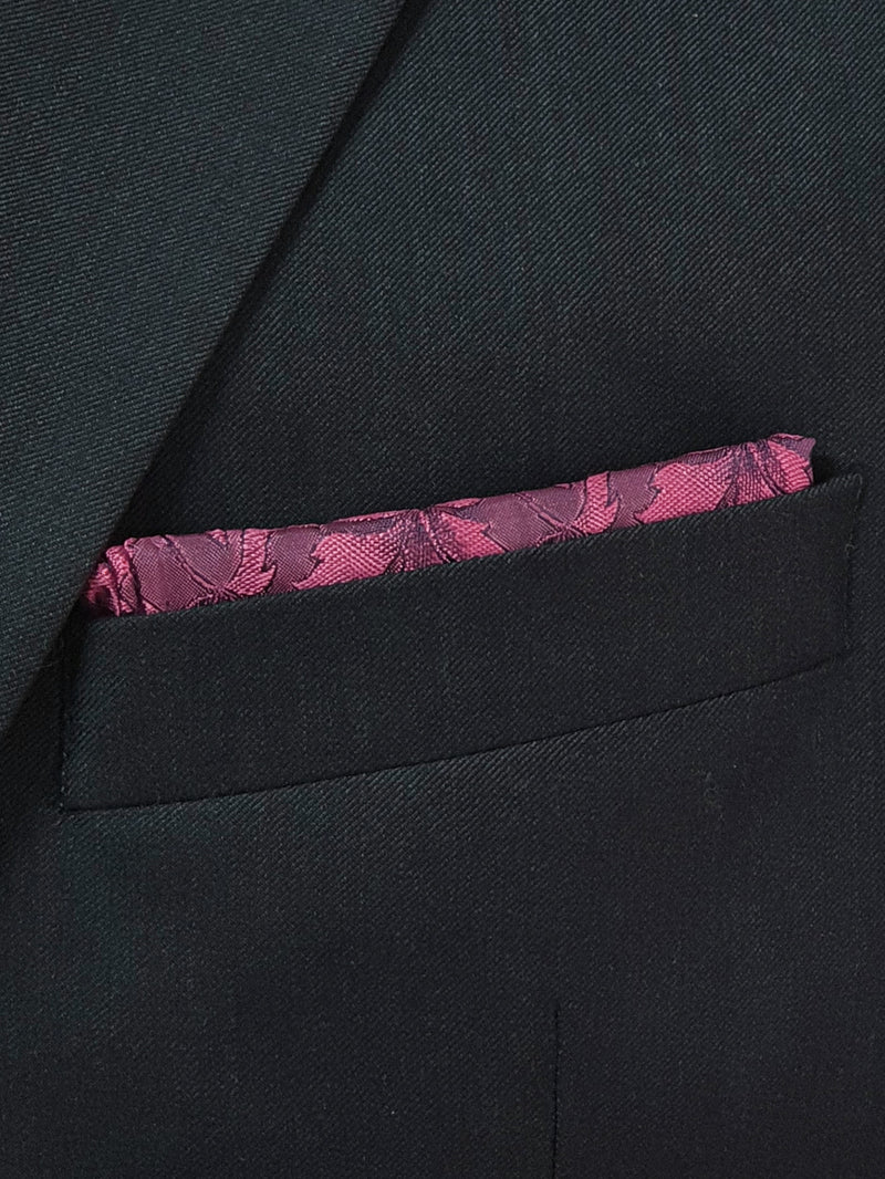 Loral Floral Pocket Square Pink
