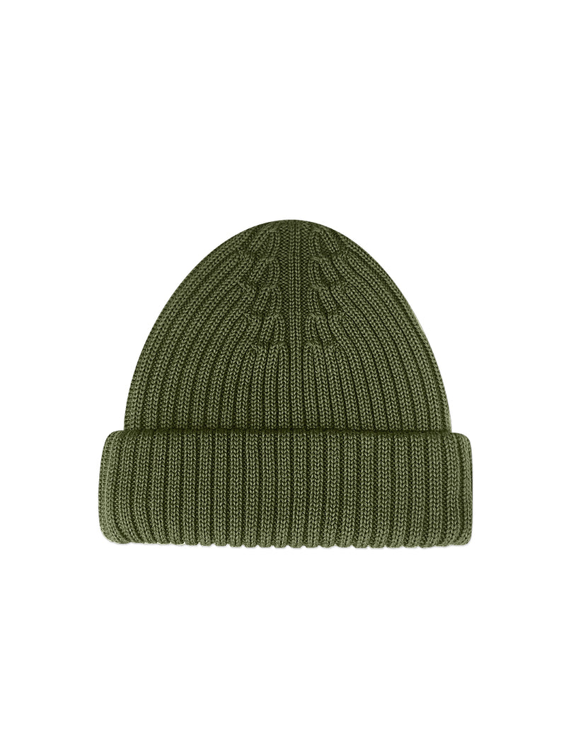 Merino Wool Hat Green