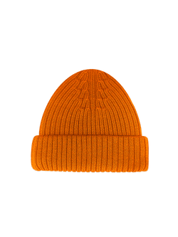 Merino Wool Hat Orange