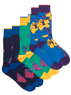 Lillie Floral Sock Set Multi
