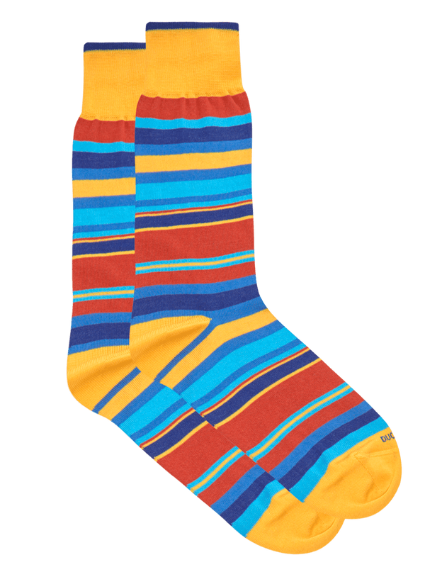 Nile Stripe Sock Blue