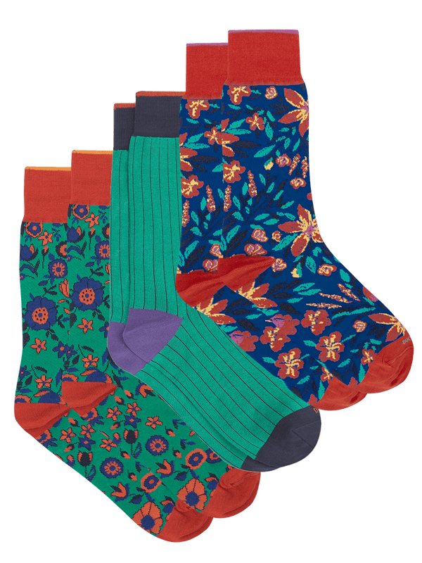 Bold Sock Set Green