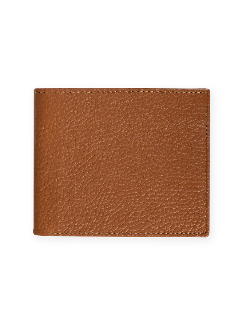 Heavy-Grain-Card-Wallet-Brown