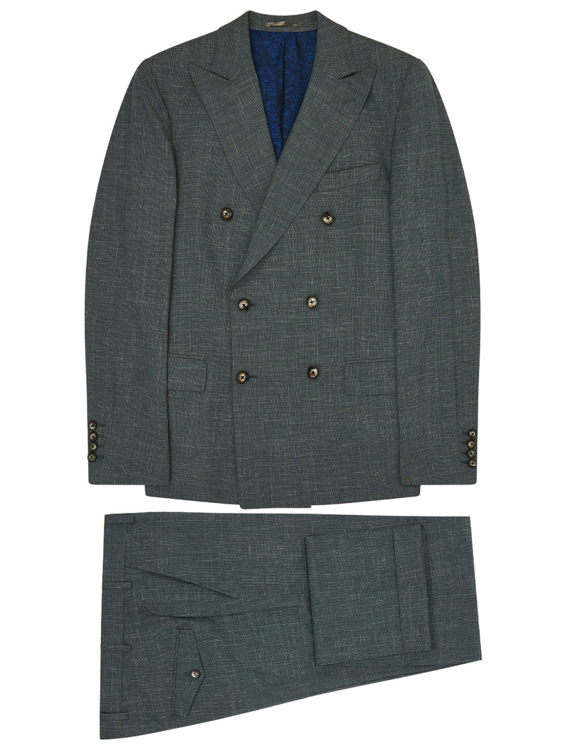 Micro Texture Suit Green