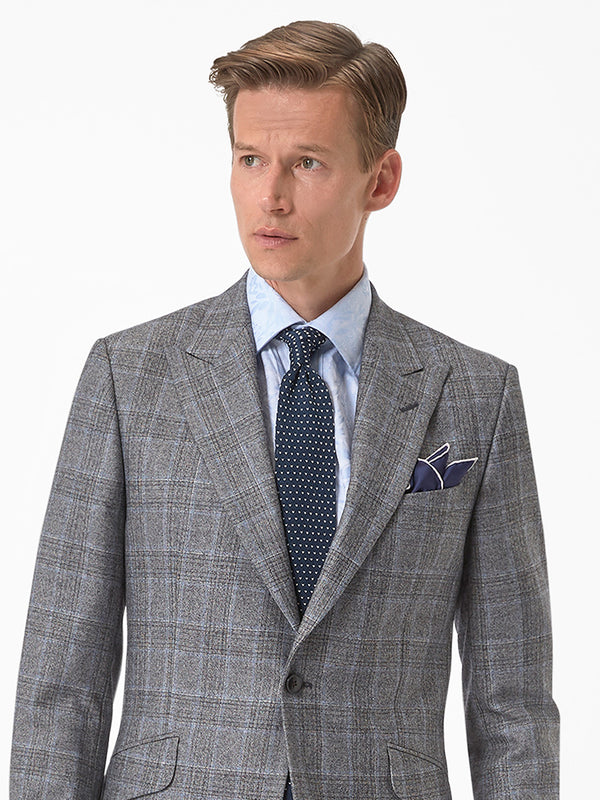 Mens-Grey-Check-Suit