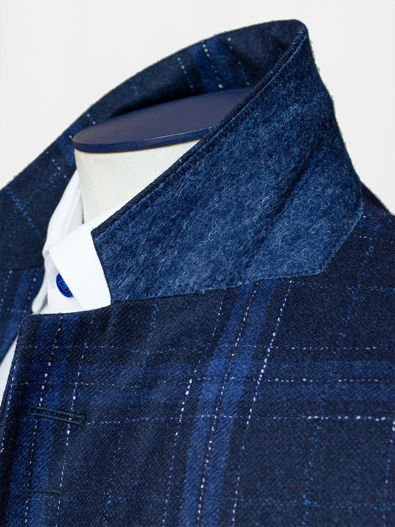 Notch Vitra Check Jacket Navy