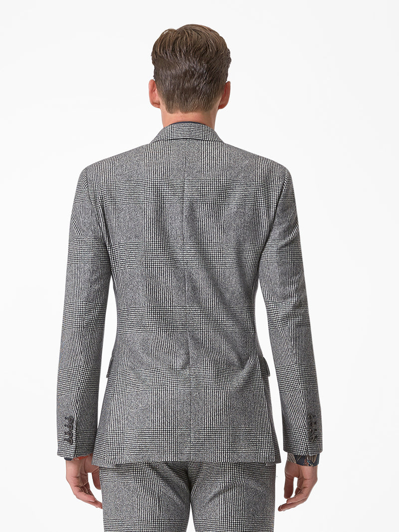 Prince of Wales Jacket Grey